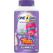 One A Day Kids Trolls Multivitamin Gummies 180 ct.