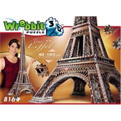Wrebbit3D 2009 Eiffel Tower 3D Puzzle