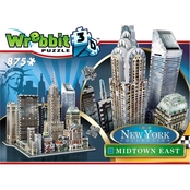 Wrebbit3D 2010 Midtown East New York 3D Puzzle