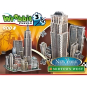 Wrebbit3D 2011 Midtown West New York 3D Puzzle