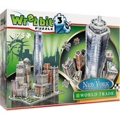 Wrebbit3D New York World Trade 3D Puzzle, 875 Pieces