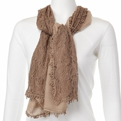 Imperial Solid Oblong Scarf with Trim
