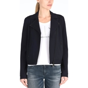 Armani Exchange Biker Zip Up Blazer