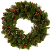 National Tree Co. 24 in. Crestwood Spruce Wreath
