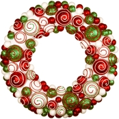National Tree Co. 20 in. Ornament Wreath