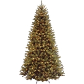 National Tree Company North Valley Spruce Tree with Clear Lights