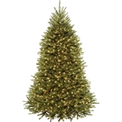 National Tree Company Dunhill Fir Tree with Clear Lights