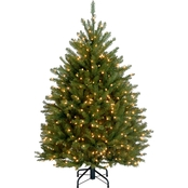 National Tree Company 4.5 ft. Dunhill Fir Tree with Clear Lights