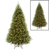 National Tree Company 7.5 ft. PowerConnect Kingswood Fir Tree with Dual Color LEDs