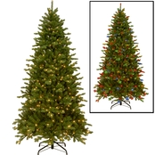 National Tree Company 7.5 ft. Sheridan Spruce Memory-Shape Tree with PowerConnect