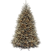 National Tree Company 7.5 ft. Dunhill Blue Fir Tree with Clear Lights