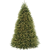 National Tree Company 9 ft. Dunhill Fir Tree with Clear Lights