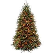 National Tree Company 6.5 ft. Dunhill Fir Tree with Multicolor Lights