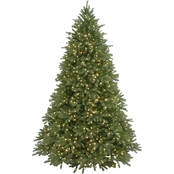 National Tree Company 7.5 ft. Jersey Fraser Fir Tree with Clear Lights
