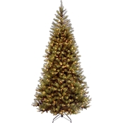 National Tree Company 7.5 ft. Aspen Spruce Tree with Clear Lights