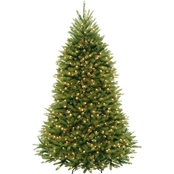 National Tree Company 7.5 ft. PowerConnect Dunhill Fir Tree with Clear Lights