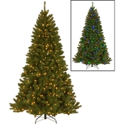 National Tree Co. 7.5 ft. PowerConnect North Valley Spruce with Dual Color LEDs
