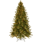 National Tree Company 7.5 ft. Avalon Spruce Tree with Clear Lights