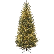 National Tree Company 7.5 ft. Natural Fraser Slim Fir Tree with Clear Lights