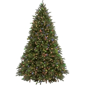 National Tree Company 7.5 ft. Jersey Fraser Fir Tree with Multicolor Lights