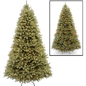 National Tree Company Downswept Douglas Fir Tree with Dual Color LED Lights