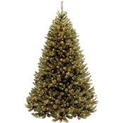 National Tree Company 7.5 ft. Rocky Ridge Medium Pine Tree with Clear Lights