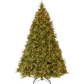 National Tree Company Downswept Douglas Fir Tree with Clear Lights