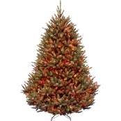 National Tree Company 7.5 ft. Natural Fraser Medium Fir Tree Multicolor Lights