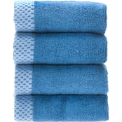 BedVoyage Rayon from Bamboo Resort Washcloth 4 pk.