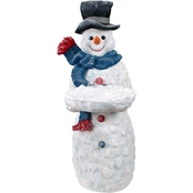 Design Toscano Flurry the Snowman Butler Table