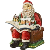 Design Toscano Santa's Coming to Town Holiday Statue