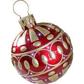 Design Toscano Gargantuan Illuminated Holiday Ornament