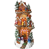 Design Toscano Santa's Workshop at the North Pole Illuminated Statue