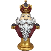 Design Toscano Santa Claus, King of the North Pole Oversized Holiday Statue