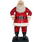 Design Toscano Jolly Santa Claus Statue, Large