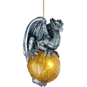 Design Toscano Protector of the Gothic Portal Celtic Dragon 2010 Holiday Ornament