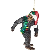 Design Toscano Bigfoot, the Holiday Yeti Holiday Ornament