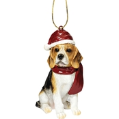 Design Toscano Beagle Holiday Dog Ornament Sculpture