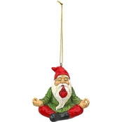 Design Toscano Zen Gnome Holiday Ornament