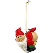 Design Toscano Loonie Moonie Gnome Holiday Ornament