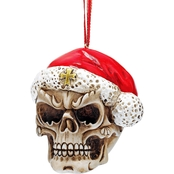 Design Toscano Skelly Claus II Holiday Skeleton Ornament