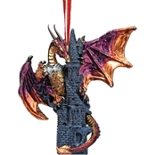 Design Toscano Zanzibar the Gothic Dragon 2012 Holiday Ornament