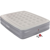Coleman SupportRest Plus Double High 120V Pump Airbed