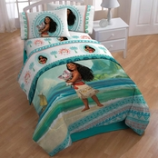 Jay Franco and Sons Moana Wave 3 Pc. Twin Sheet Set