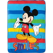 Jay Franco and Sons Disney Mickey Mouse Clubhouse Adventure Blanket