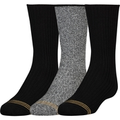 GoldToe Boys Cotton Crew Socks 3 Pk.