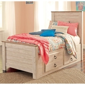 Signature Design by Ashley Willowton Captains Bed
