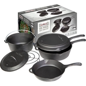 Camp Chef 6 Piece Cast Iron Set