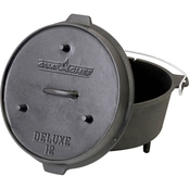 Camp Chef 12 in. Cast Iron Deluxe Dutch Oven