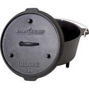 Camp Chef 10 in. Cast Iron Deluxe Dutch Oven